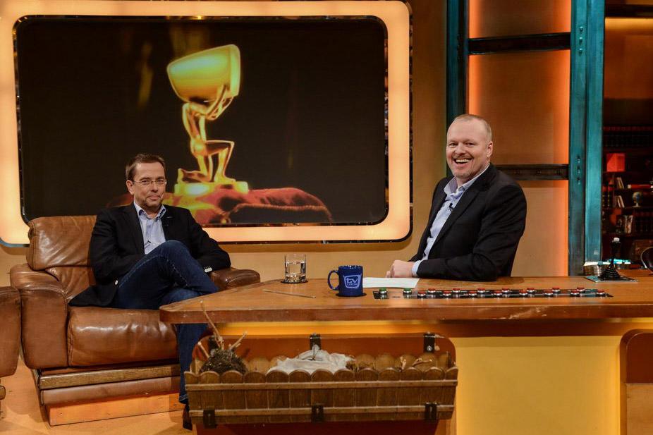 [Foto] Mario Ludwig zu Gast bei Stefan Raab in der Sendung TV Total. Foto: Steffen Z. Wolff / BRAINPOOL