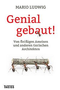 "Mario Ludwig: Buchcover von ""Genial gebaut"""