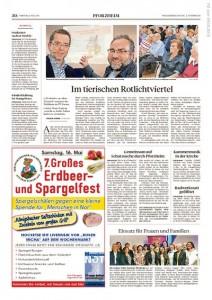 Pforzheimer Zeitung-15-05-09